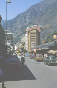 Impression in Andorra 1980