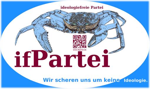Change Beitragsbild Blog A4 quer ifPartei blau ausgefranster Rand